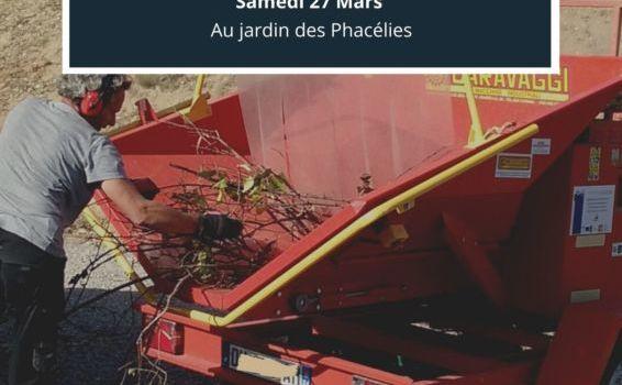 Opération Broyage aux Phacélies