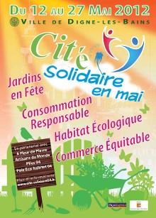 Cité Solidaire en Mai 2012 à Digne-Les-Bains