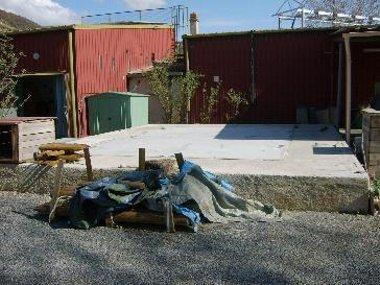 La terrasse avant les travaux !