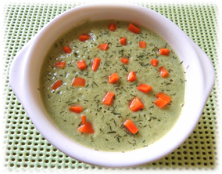 velouté de brocolis au tofu
